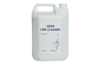 5ltr Clear Beer Line Cleaner - Click to Enlarge