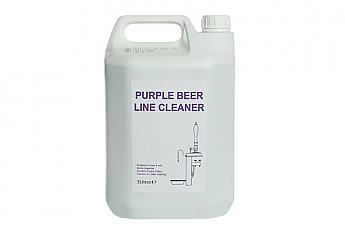 5ltr Purple Beer Line Cleaner - Click to Enlarge