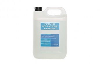 5ltr Antibacterial Pearlised Soap - Click to Enlarge