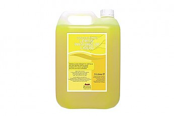 5ltr Lemon Concentrated Washing Up Liquid - Click to Enlarge