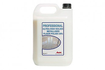 5ltr Ultra High Solids Metallised Floor Polish 25% - Click to Enlarge