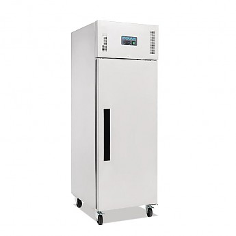 Polar Single Door Freezer Stainless Steel 600Ltr - Click to Enlarge