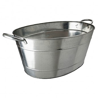 Beaumont Galvanised Steel Wine And Champagne Tub - Click to Enlarge