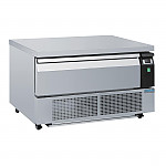 Zoin Hill 1 Shelf Slimline Deli Serve Over Counter Chiller White 1000-3000mm