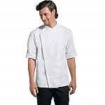 Chef Works Unisex Cool Vent Chef Shirt White