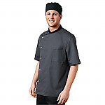 Chef Works Unisex Cool Vent Chefs Shirt Grey
