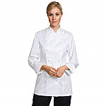 Chef Works Unisex Cool Vent Chef Shirt Merlot