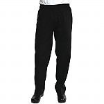Chef Works Womens Basic Baggy Chefs Trousers Black