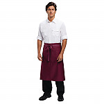 Whites Bib Apron Red And White Stripe